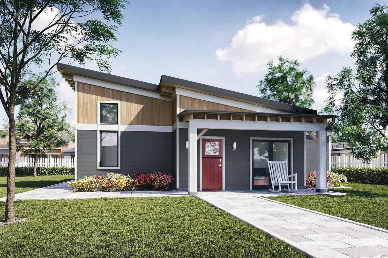 Truoba Mini 219 1000 sq. ft. house plan