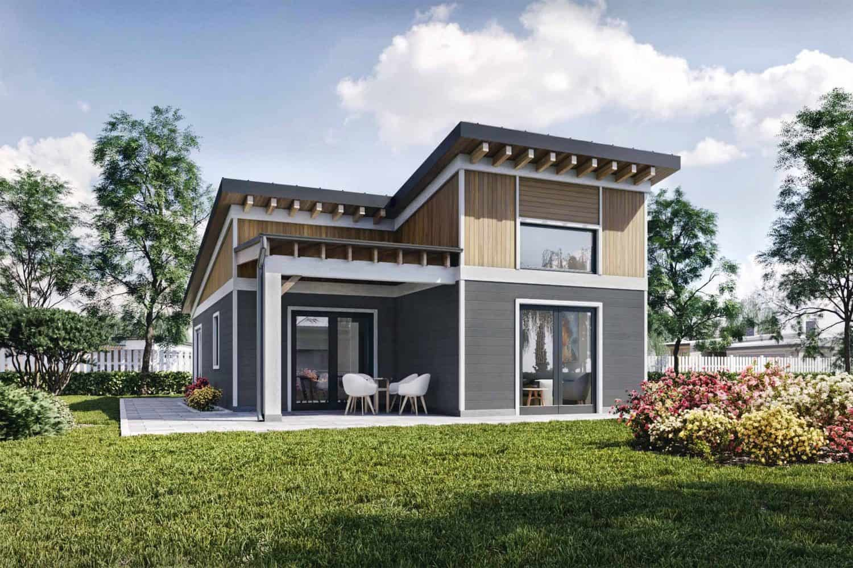 Truoba Mini 219 guest house plans