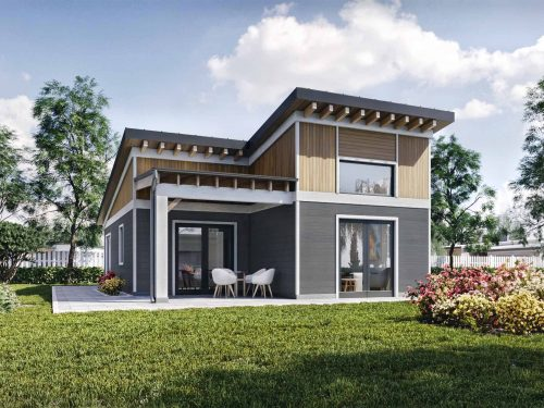 Truoba Mini 219 guest house plans