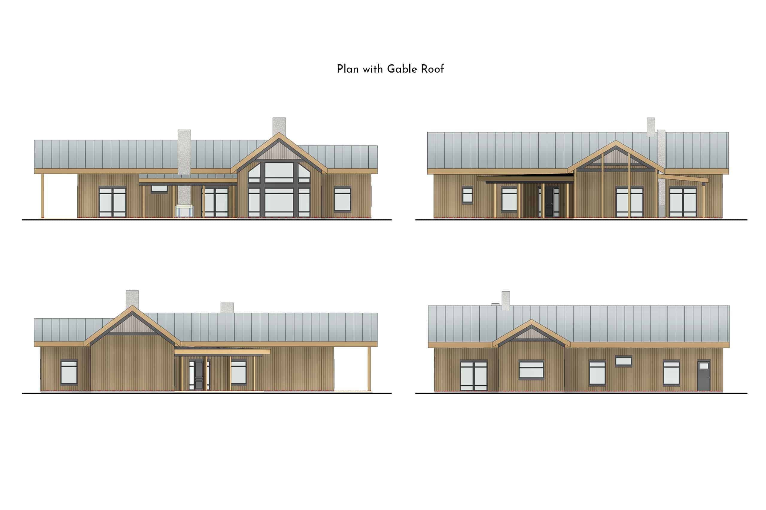 Truoba Class 115 Modern House Plan Truoba Plan 924 1
