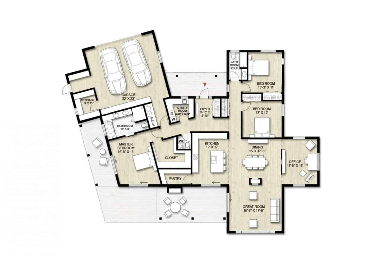 Truoba Class 119 house floor plan
