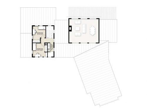 Truoba Class 519 second floor house plan