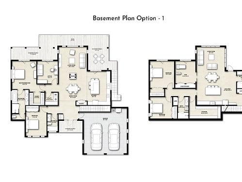 Truoba 218 basement floor plan