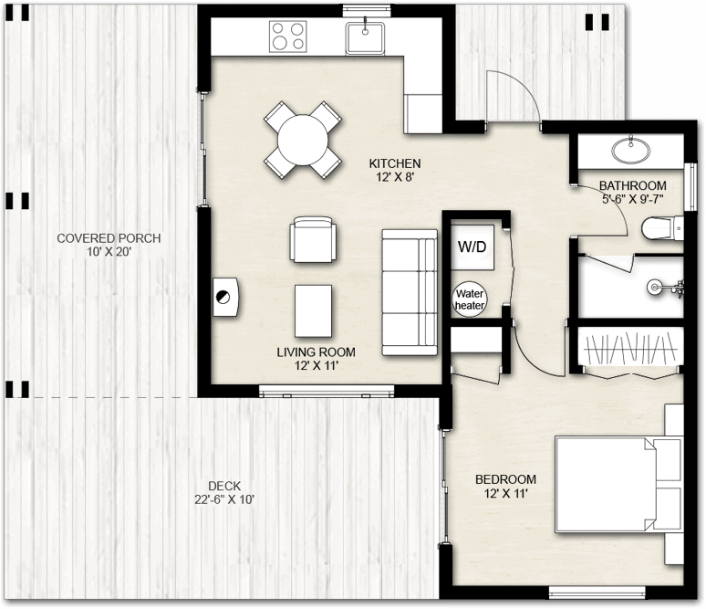 Truoba Mini 220 guest house plans