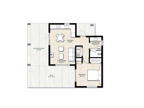 Truoba Mini 220 house plan