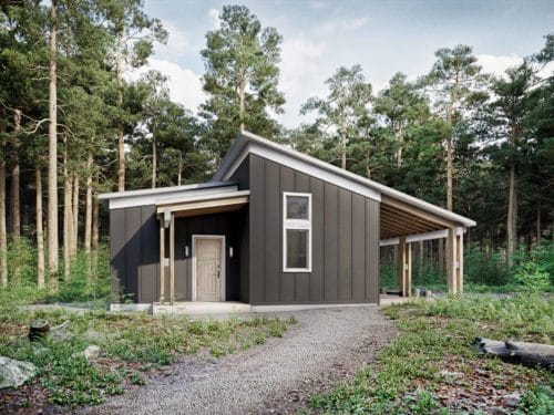 Truoba Mini 220 shed house elevation