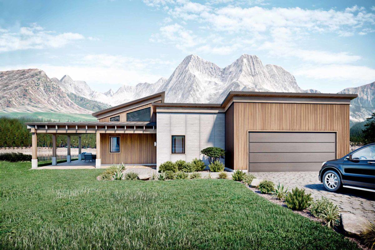 Truoba Mini 419 - 1500 sq. ft. house plan