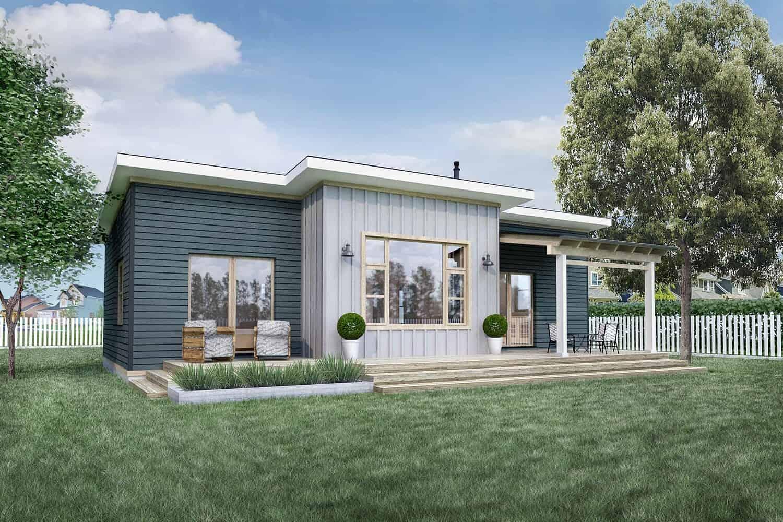 Truoba Mini 118 - 800 sq. ft. house plan