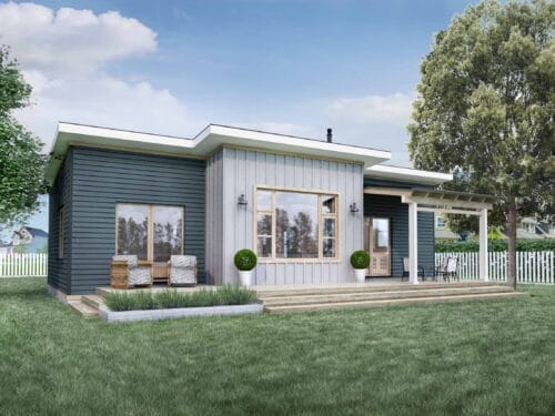 Truoba Mini 118 - 800 sq. ft. house plan