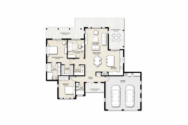 Truoba 218 house floor plan