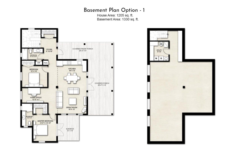 Truoba Mini 419 basement plan