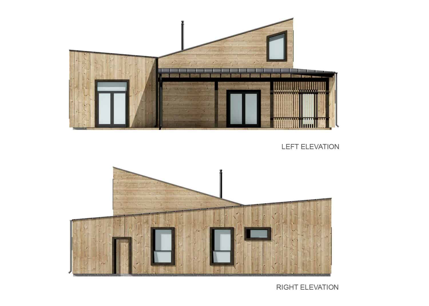 Truoba 321 elevations