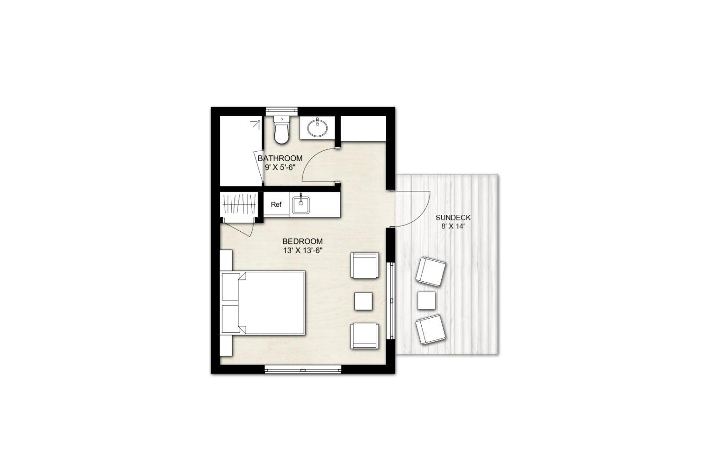 Truoba Mini 121 house plan