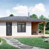Truoba Mini 221 house front elevation