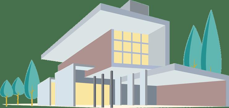 Custom home exterior design