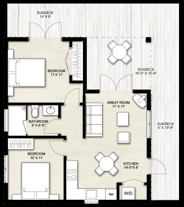 Truoba pool house plans