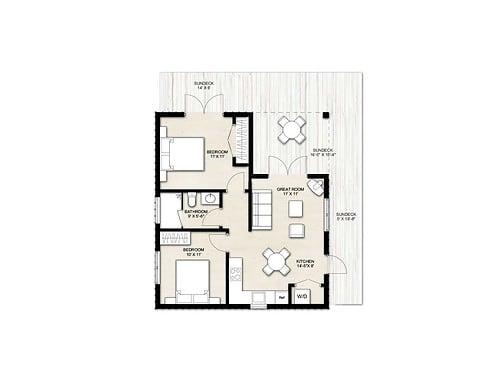 Truoba Mini 221 house floor plan
