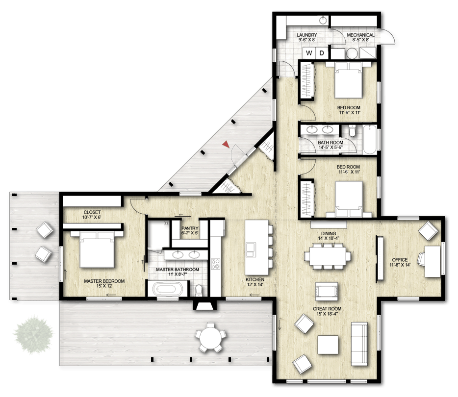 Truoba house plan