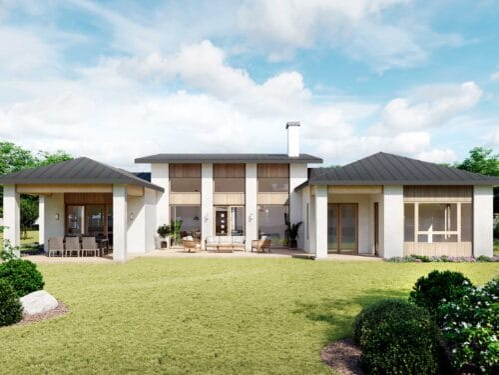 Truoba Craftsman House Plans