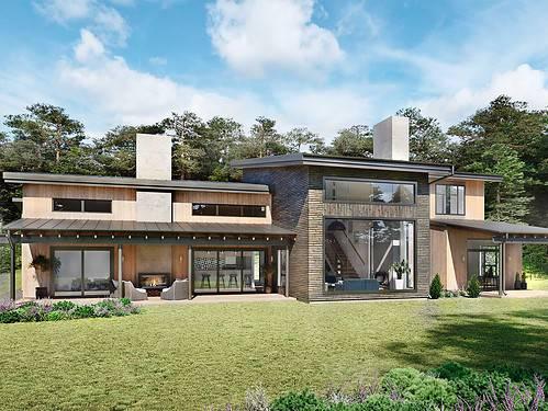 Truoba European House Plans
