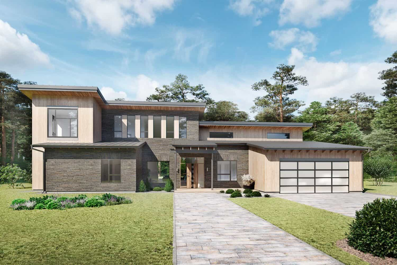 Truoba Modern House Plans