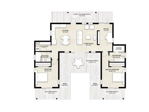 Truoba Mini 721 house plan